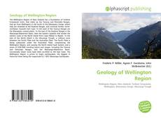 Bookcover of Geology of Wellington Region