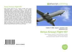 Capa do livro de Kenya Airways Flight 507