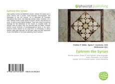 Couverture de Ephrem the Syrian