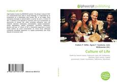Buchcover von Culture of Life