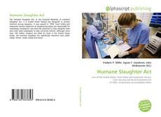 Humane Slaughter Act的封面