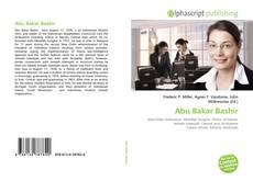 Couverture de Abu Bakar Bashir