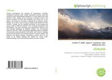 Capa do livro de climate