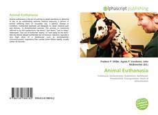 Portada del libro de Animal Euthanasia