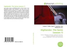 Buchcover von Highlander: The Series (season 1)