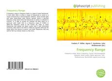 Bookcover of Frequency Range