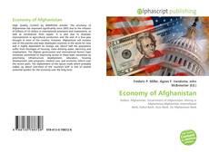 Обложка Economy of Afghanistan
