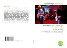 Buchcover von Bloc Party