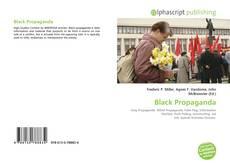 Copertina di Black Propaganda