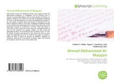 Bookcover of Ahmed Mohammed Al-Maqqari