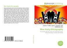 Buchcover von Bloc Party Discography