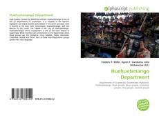 Portada del libro de Huehuetenango Department