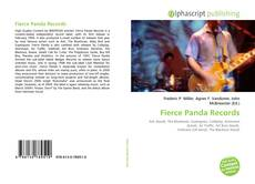 Bookcover of Fierce Panda Records