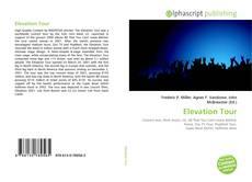 Обложка Elevation Tour