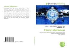 Bookcover of Internet phenomena