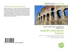 Leopold II, Holy Roman Emperor kitap kapağı