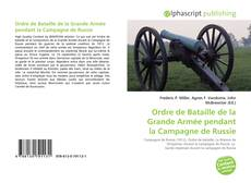 Ordre de Bataille de la Grande Armée pendant la Campagne de Russie kitap kapağı