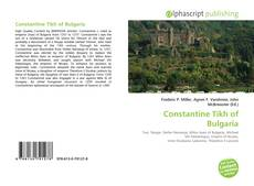 Buchcover von Constantine Tikh of Bulgaria