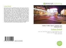 Bookcover of Lotus Excel
