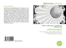 Bookcover of Lotus Europa S