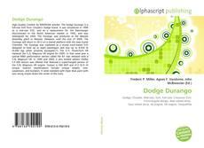 Обложка Dodge Durango