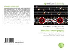 Copertina di Metallica Discography