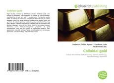 Buchcover von Colloidal gold
