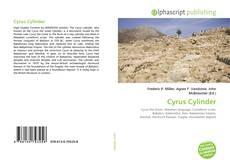 Borítókép a  Cyrus Cylinder - hoz
