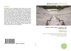 Bookcover of Miletus