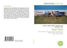 Copertina di Capri Pants