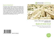 Buchcover von Book of Arda Viraf
