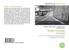 Couverture de Dodge Rampage Concept