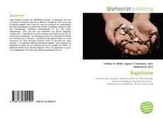 Bookcover of Baptisme