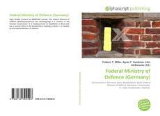 Capa do livro de Federal Ministry of Defence (Germany)