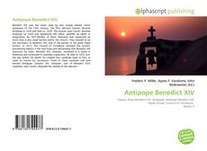 Bookcover of Antipope Benedict XIV