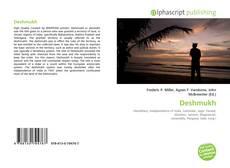 Bookcover of Deshmukh