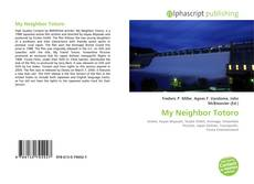 Capa do livro de My Neighbor Totoro