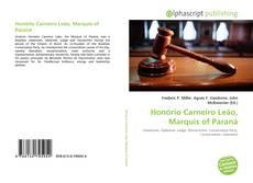 Обложка Honório Carneiro Leão, Marquis of Paraná