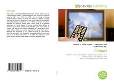 Bookcover of Climax!