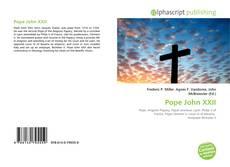 Pope John XXII的封面