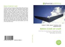 Capa do livro de Bakers Creek air crash