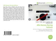 Alfa Romeo Racing Italiano kitap kapağı