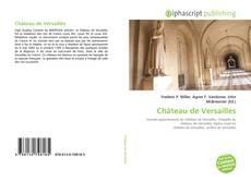 Bookcover of Château de Versailles