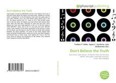 Buchcover von Don't Believe the Truth