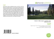 Bookcover of Golf
