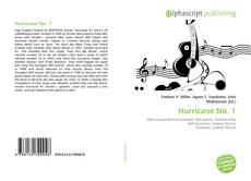 Bookcover of Hurricane No. 1