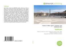 Vatican kitap kapağı