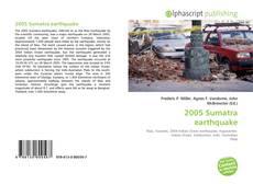 Bookcover of 2005 Sumatra earthquake