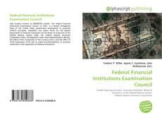 Borítókép a  Federal Financial Institutions Examination Council - hoz