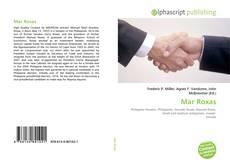 Bookcover of Mar Roxas
